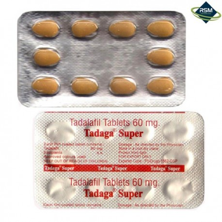 Tadaga Super 60mg.N10
